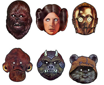 Printable Star Wars Masks