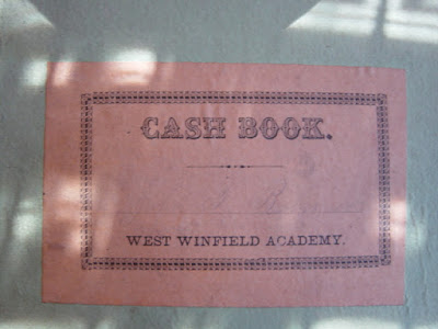 West WInfield Academy Cash Book