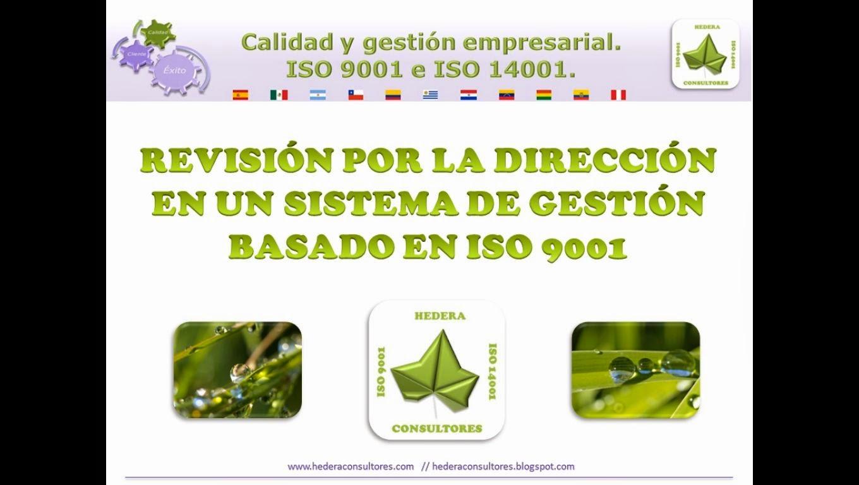 Revisión dirección ISO 9001