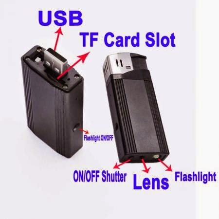 Spy Cam Real Lighter HD 1080 P 1