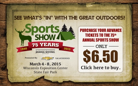 Milwaukee Journal Senitnel Sports Show - plan to attend - FEB 27 - MAR 1