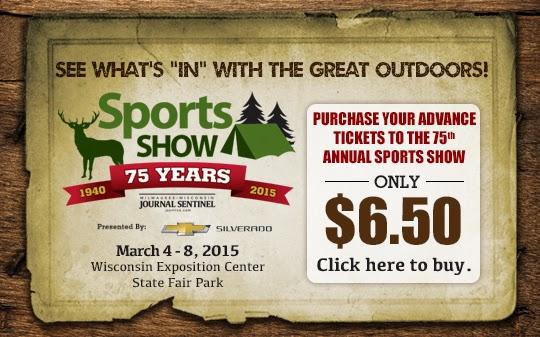 Milwaukee Journal Senitnel Sports Show - plan to attend - FEB 27 - MAR 1