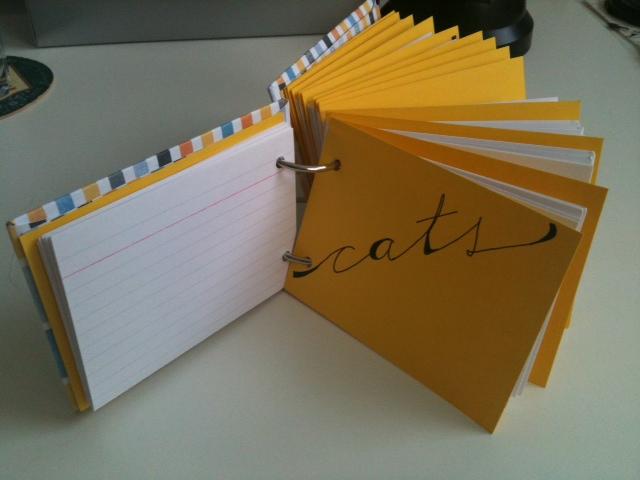 Como hacer un fichero creativo imagui - Como se hace manualidades ...