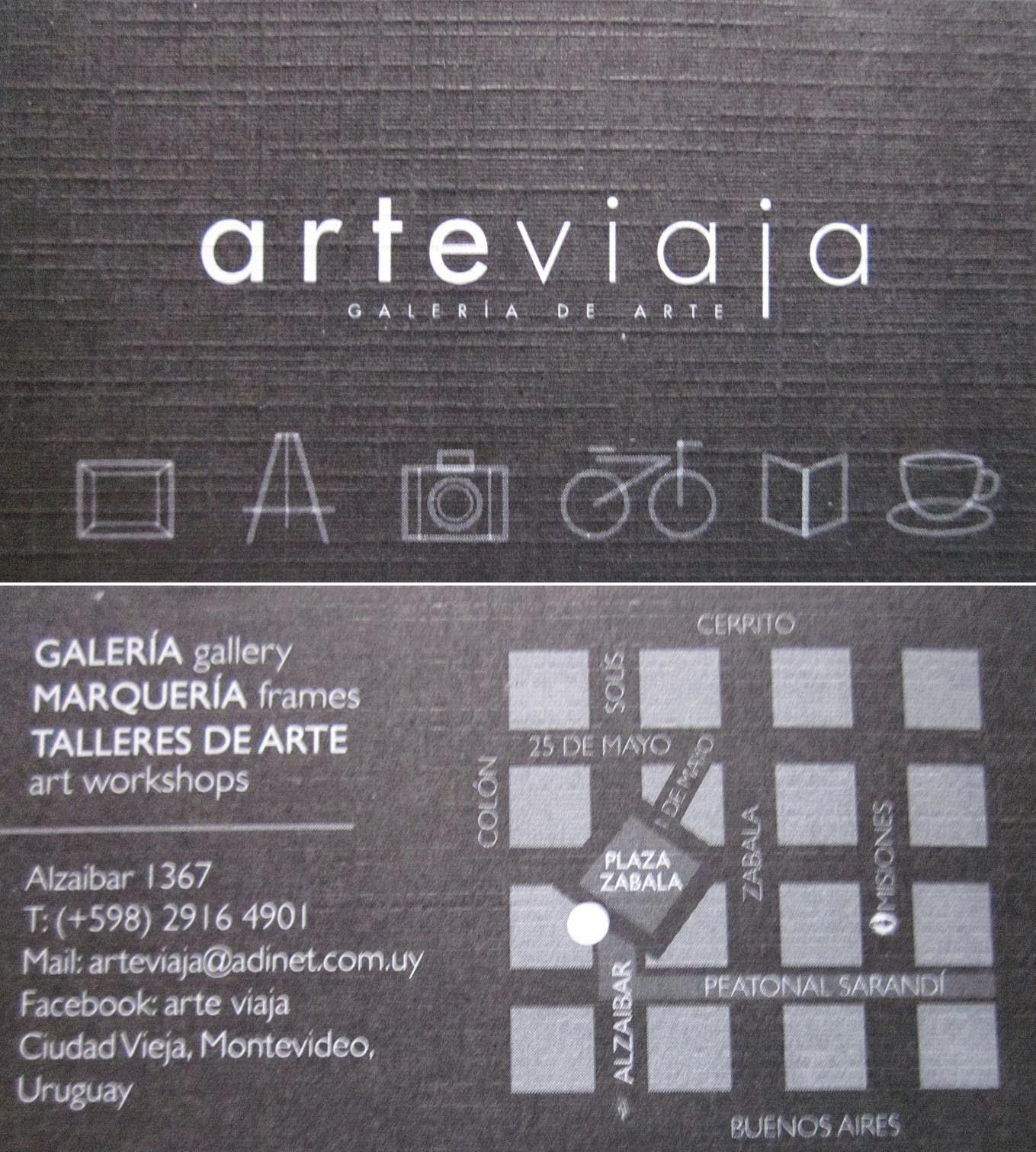 galeria de arte ARTEVIAJA