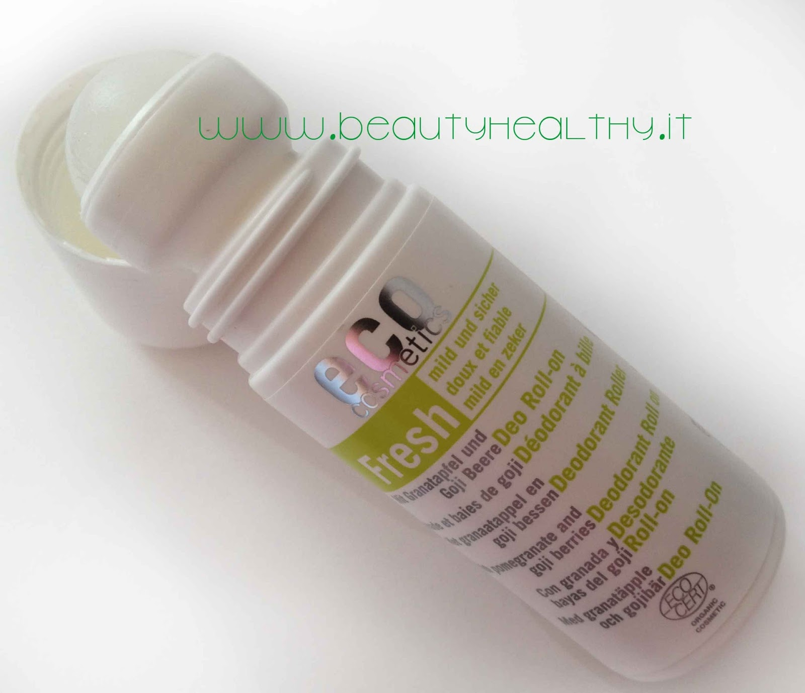 Deodorante ecobio  Eco-Cosmetics Melograno e Bacche di Goji