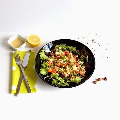 Illustration Salade de Millet Automnale