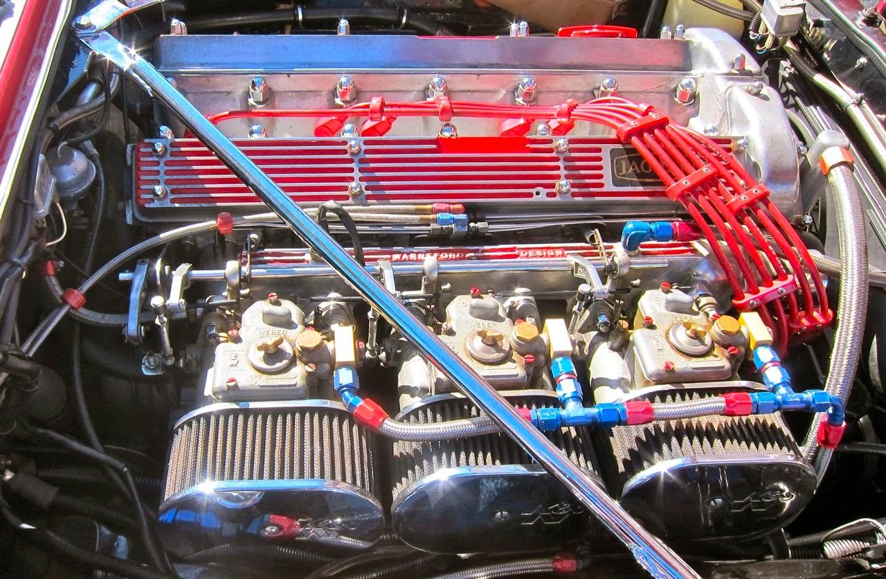 Jaguar à toutes les sauces. - Page 13 Engine+WEBERS