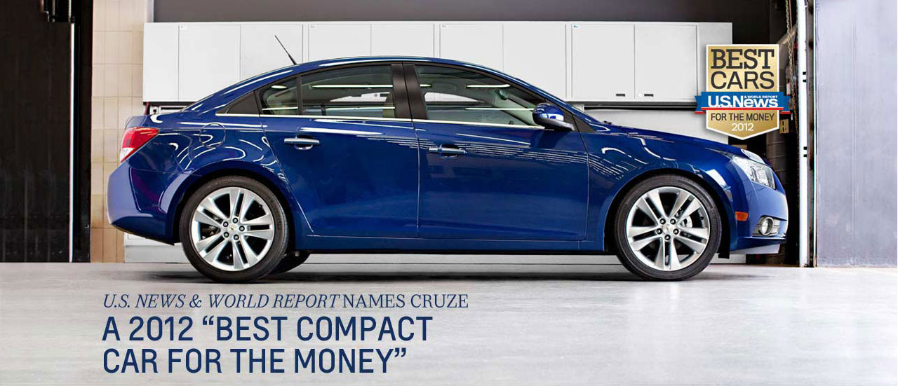 "2012 Chevy Cruze ""Best Compact Car For The Money"""