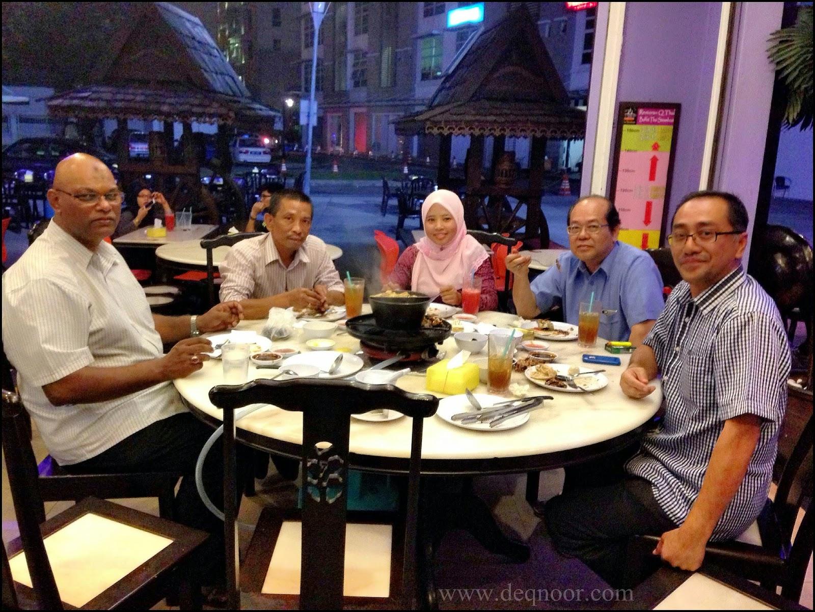 Makan Malam Steamboat Buffet Restoran Q Thai Seksyen 13 Shah Alam