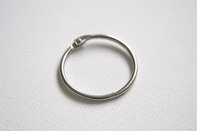 metal craft ring closed