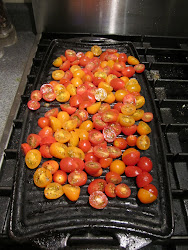 Tomatoes Grilling