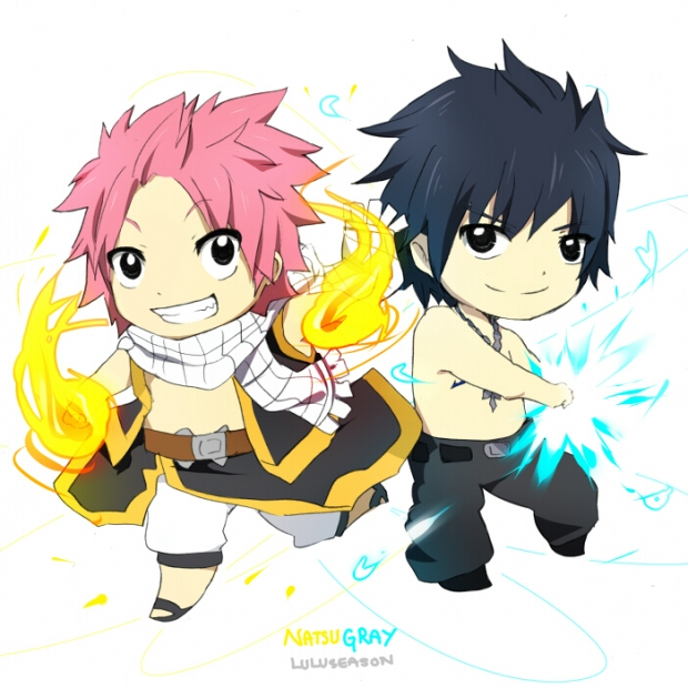 Fairy Tail Natsu And Gray Cute Addicted Addict...
