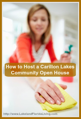 Make your Carillon Lakes community home for sale more attractive to homebuyers with these open house tips.