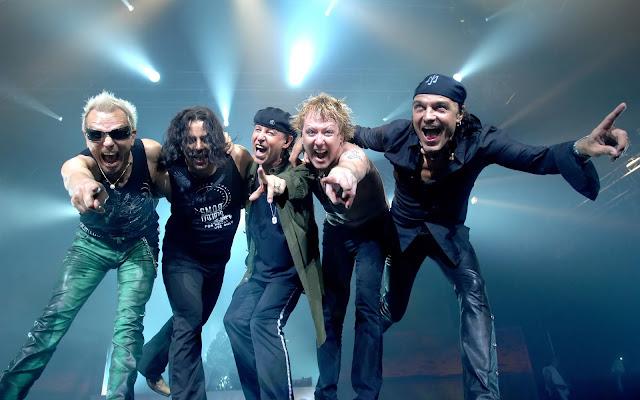 Scorpions en Guadalajara Auditorio Telmex 2016  2017 2018