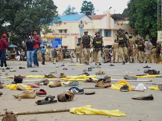टीपू सुल्तान जयंती समारोह में हिंसा, VHP नेता की मौत