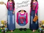 Overall Jeans Washed SOLD OUT