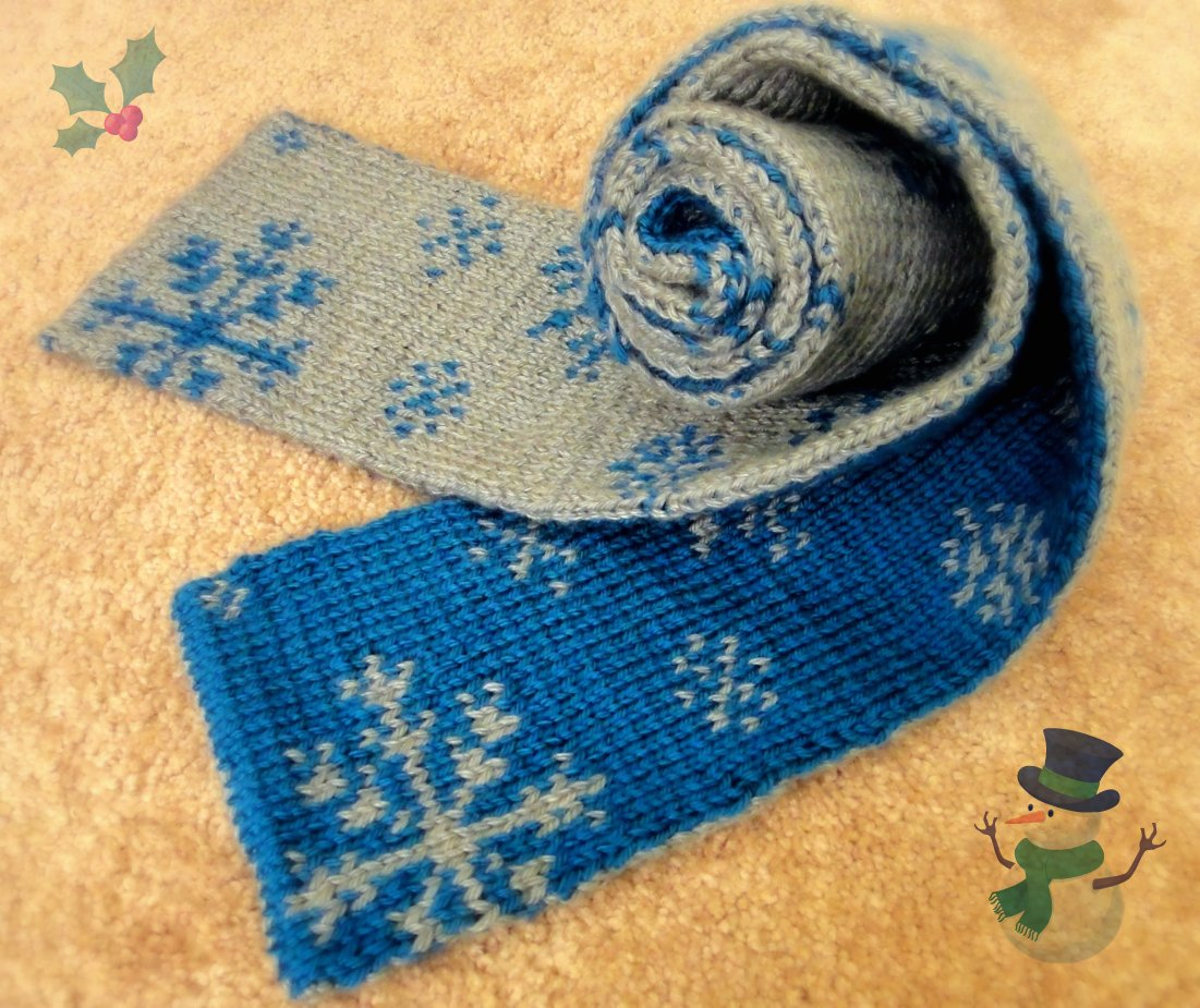 Lrs f th ld double knitting snowflakes scarf 3 bind off for double knitting scarf bankloansurffo Image collections