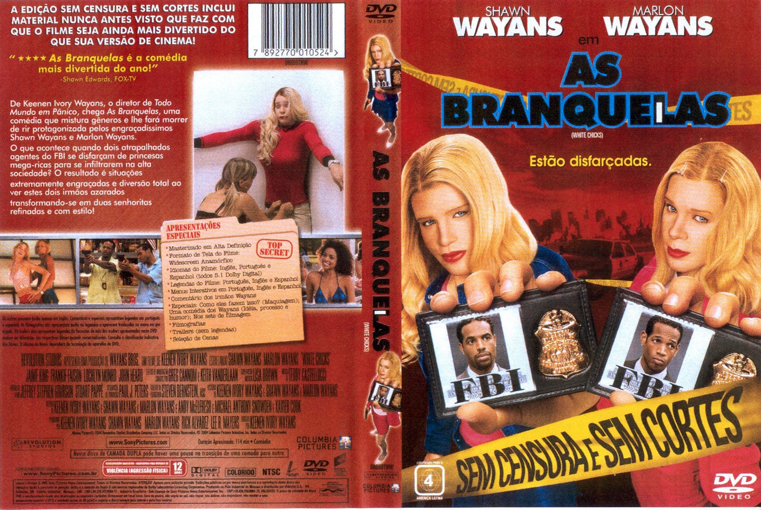 Capa Do Filme Assistir Filme As Branquelas