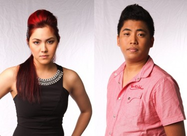 Myk Perez and Isa Fabregas - Team Bamboo of The Voice of the Philippines