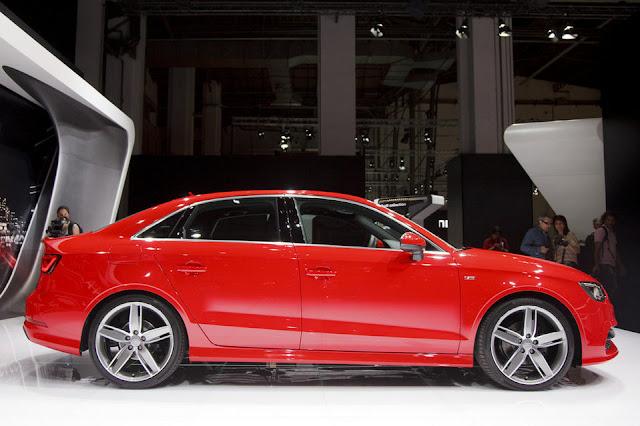 El Audi A3 Sedan fue presentado en el Salón del Automovil de Barcelona