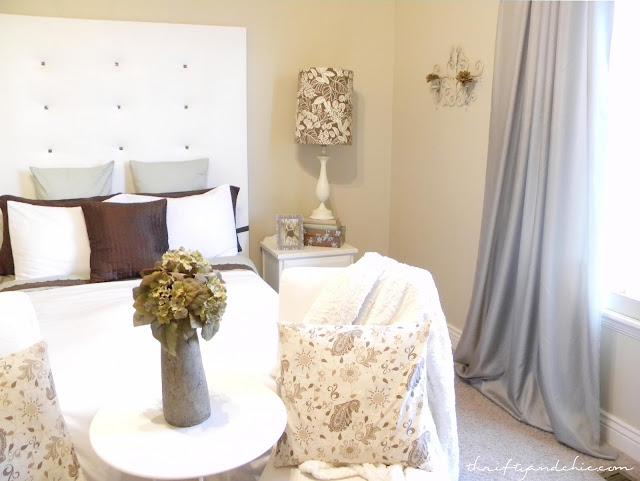 $100 Bedroom Makeover with tutorials