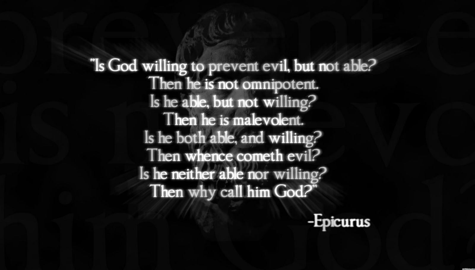 epicurus vs epictetus Post 2: epicurus vs epictetus date: fri, 2 jul 2004 14:52:07 epicurus'  ethical theory stems from his belief that nothing is created out of.
