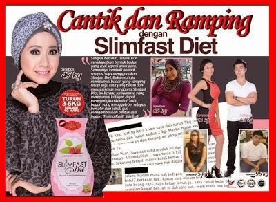 Faa share: Pengalaman bercabaran dengan SlimFast Diet