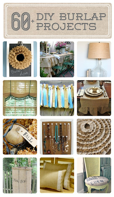 Easy Burlap Projects