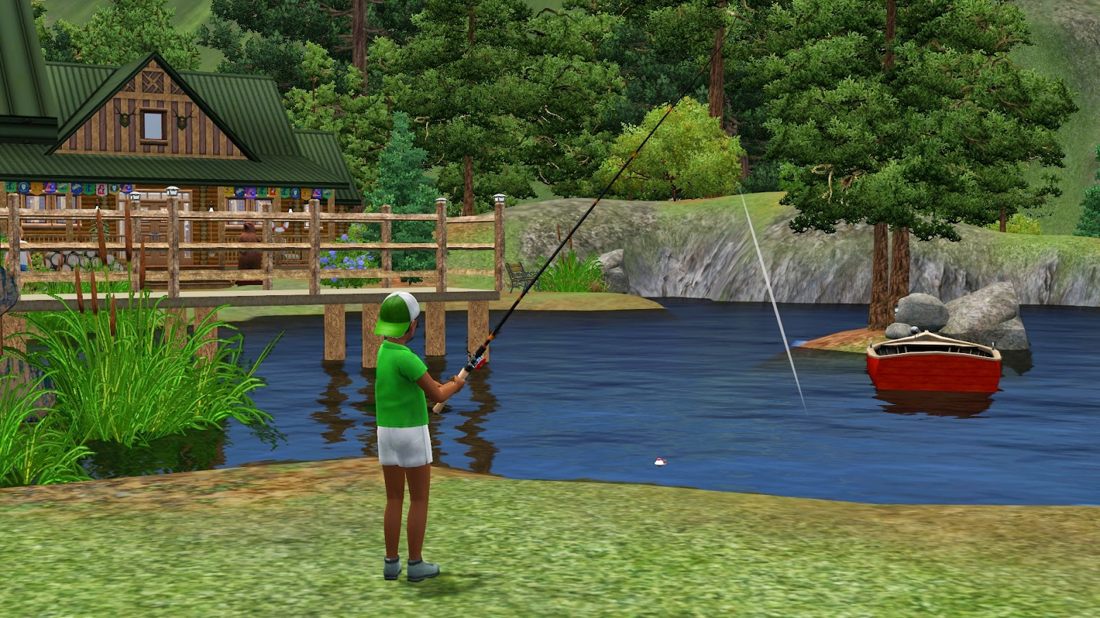 Simply ruthless send your sims to summer camp at camp for Sims 4 fishing