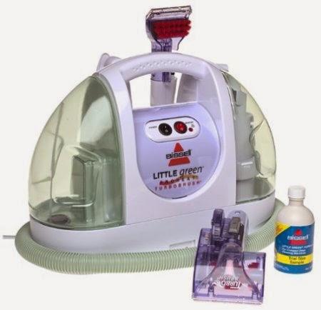 bissell green machine proheat