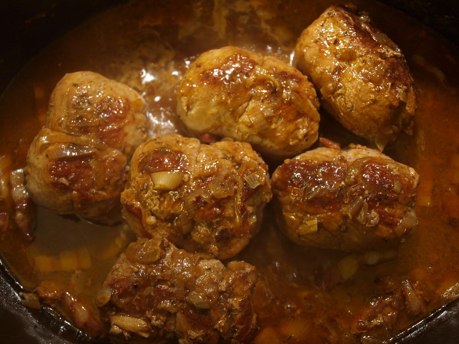 La casserole paupiettes surveault es carottes - Cuisiner des paupiettes de veau ...
