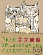 Owl Lover 2012 Calendar
