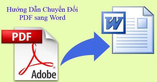 Cach-don-gian-chuyen-doi-file-PDF-sang-Word, Cách đơn giản chuyển đổi file PDF sang Word