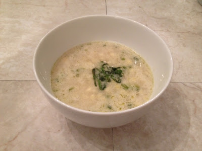 Corn Soup with Coconut, Lime And Basil Recipe