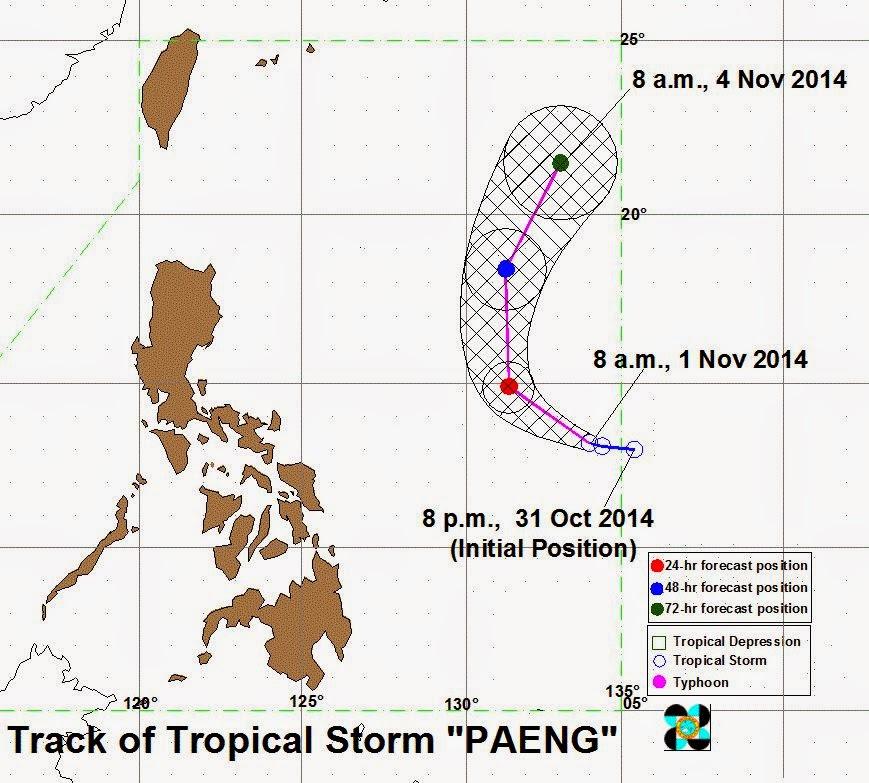 Tropical Storm Paeng