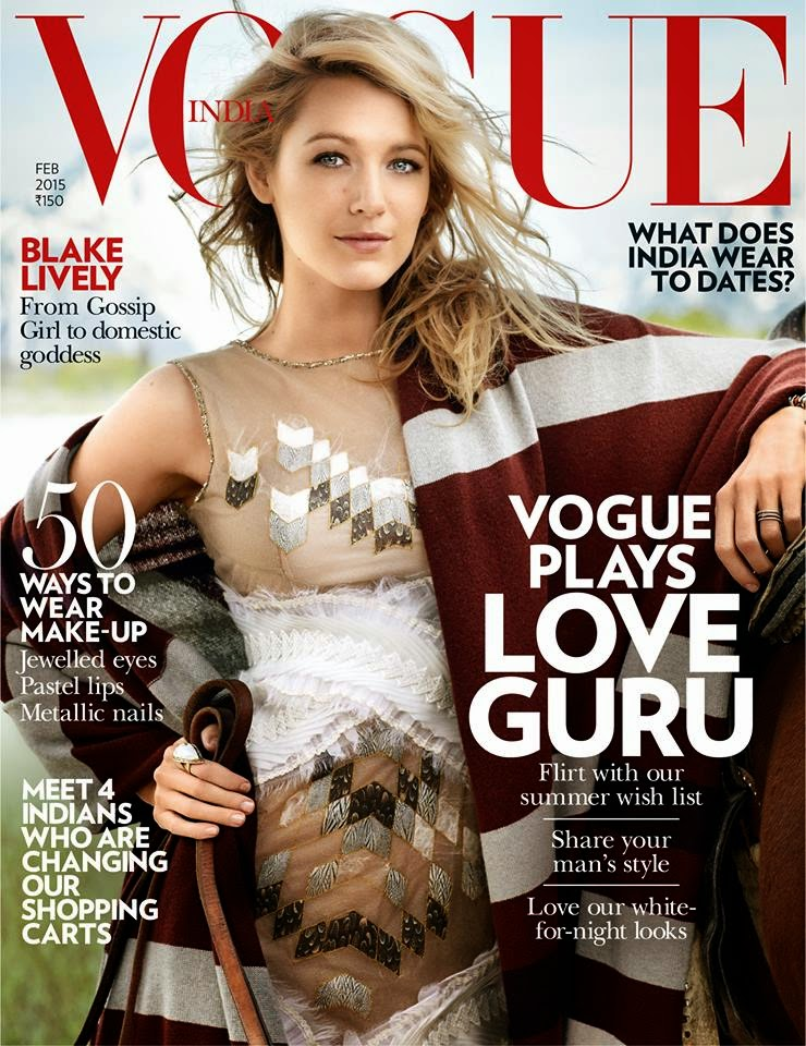 Actress, Model, Celebrity: Blake Lively for Vogue India