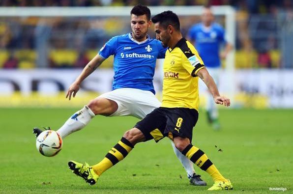 Dortmund 2-2 Darmstadt