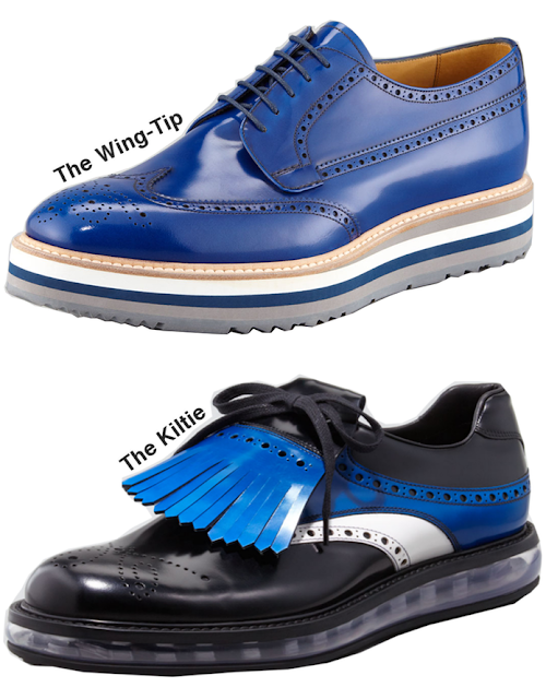 Shoes Make The Man - Fashion Blog - Prada Shoes