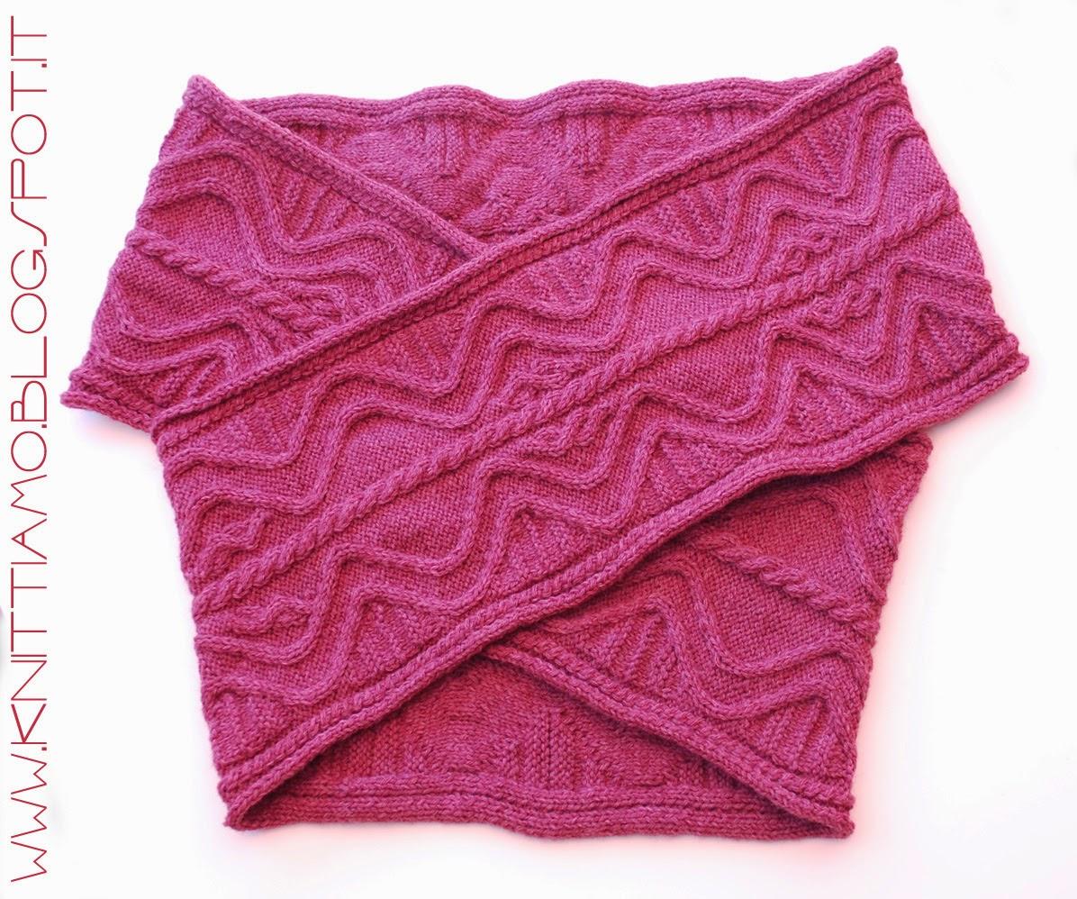 shema gratis scaldacuore a maglia