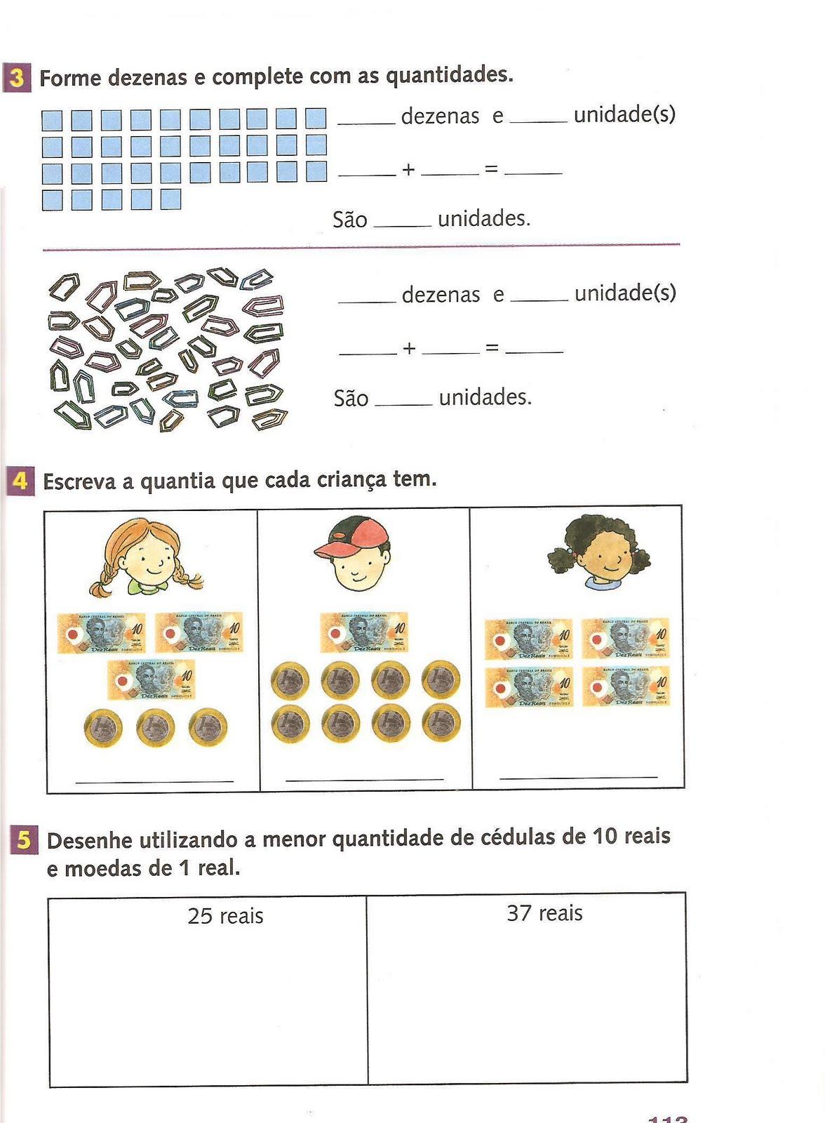 Fabuloso Jardim da Tia Di♥: Atividades com Material Dourado - Matemática PE15