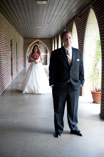 orlando wedding first look