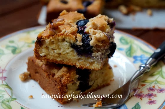 Jewish Apple Walnut Cake With Streusel Topping