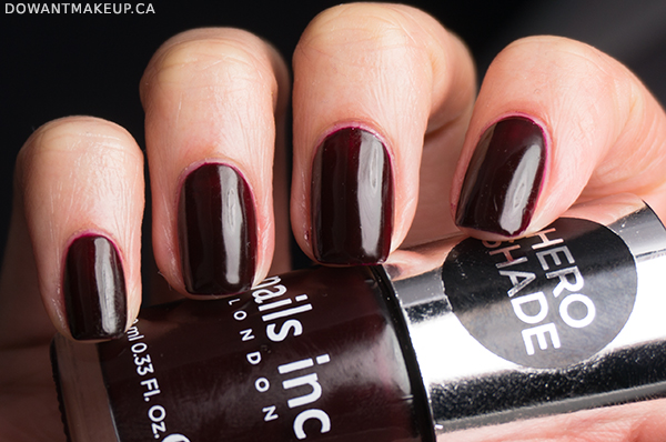 Nails Inc Victoria swatches