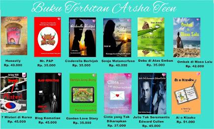 Novel Terbitan Arsha Teen Tahun 2016 Part 1