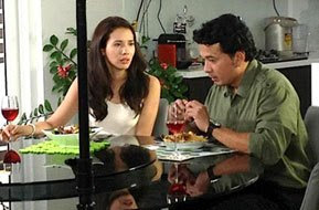 Karylle and Simon Ibarra in Point of Entry