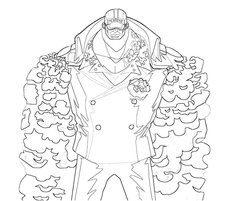 printable-one-piece-akainu-power-coloring-pages