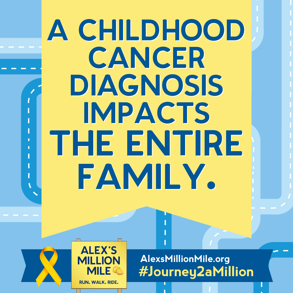 Alex's Lemonade Stand Foundation: Join The Million Mile ...