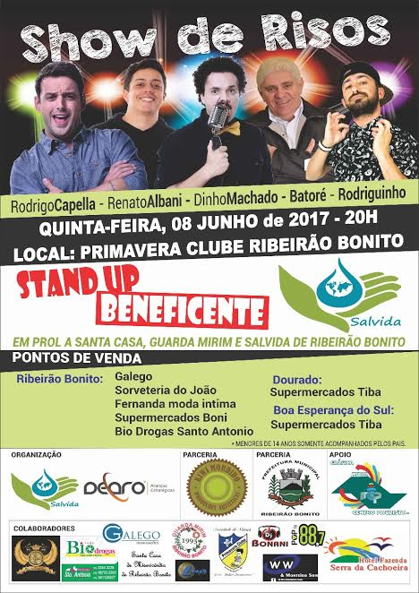STAND UP BENEFICENTE