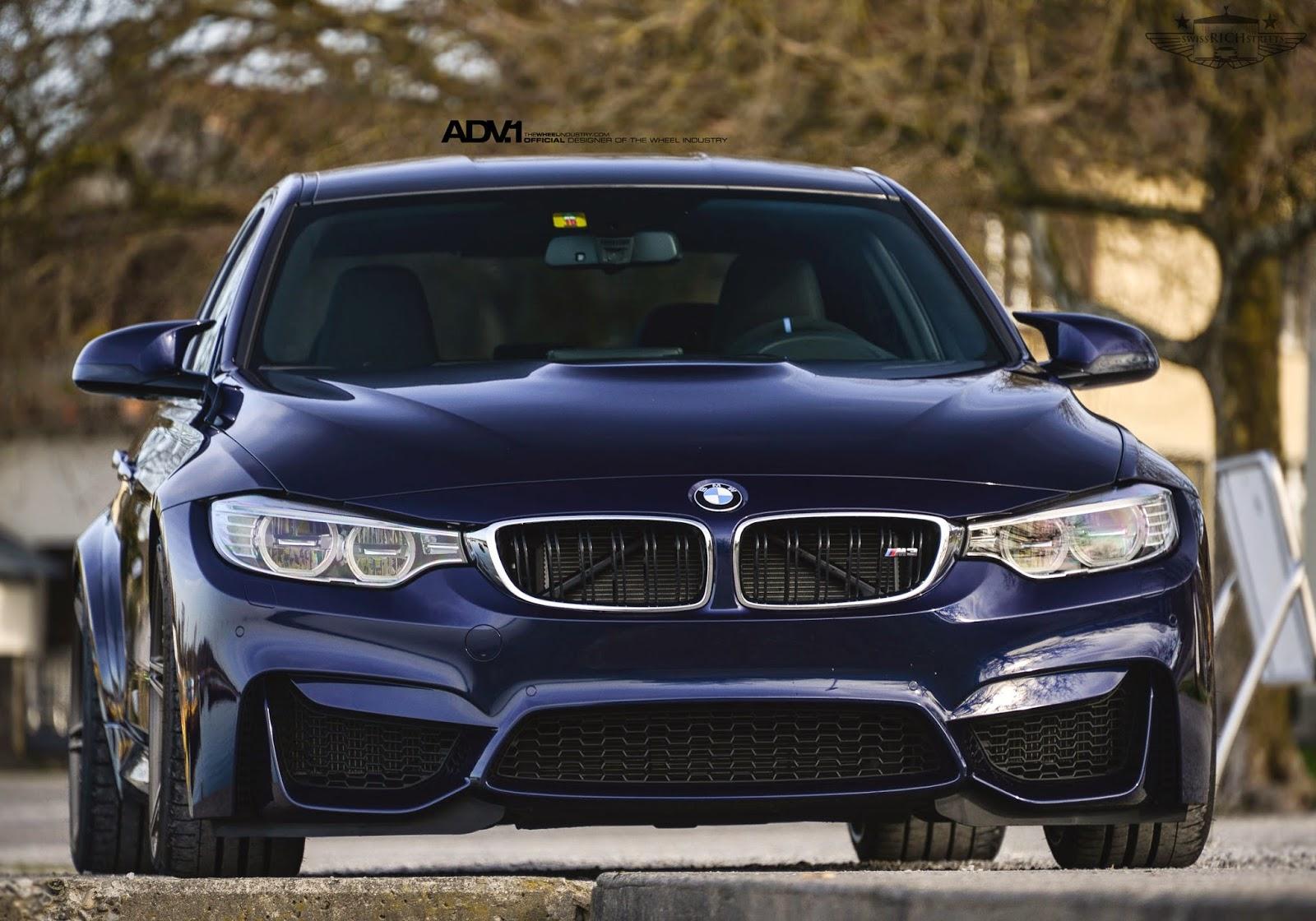 BMW F80 M3 On ADV05 MV2 By ADV.1 Wheels