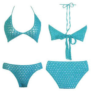 Free Knit Bikini Pattern : Bikini Crochet-Knitting Gallery